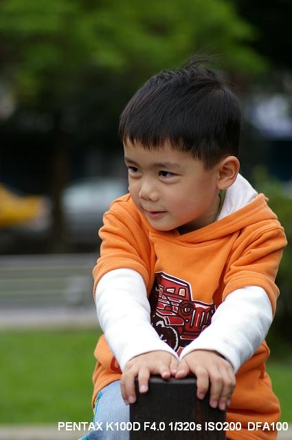 DFA100 Lens_兒童試拍
