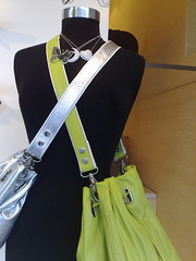 bags and necklaces (yewenyi) Tags: moon black mannequin fashion butterfly bag necklace heart sydney australia nsw newsouthwales paddington aus oceania pc2021 auspctagged green easternsuburbs silver greatersydney bag