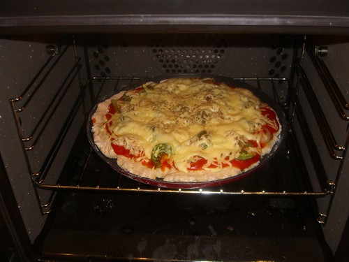 Step 5: In the oven