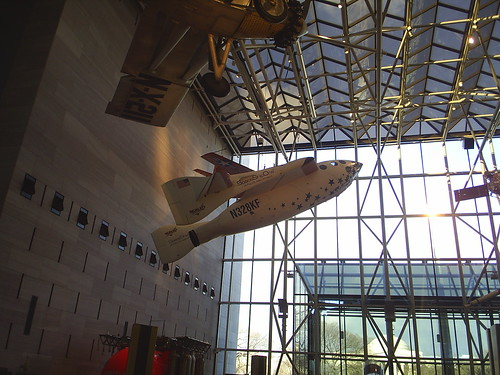 Look what's hanging in the Air and Space Museum!