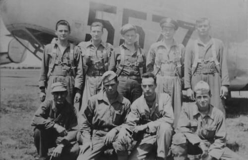 Lt. Snow's B-24 Crew, WWII