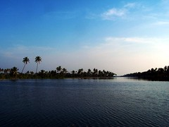 kerala (Dr. Patrick George) Tags: blue trees light sky sun water clouds george view patrick kerala greenery ripples cochin naturesfinest godsowncountry anawesomeshot