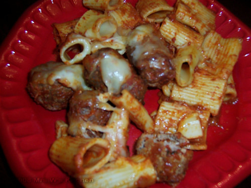 Baked Rigatoni With Tiny Meatballs Recipes — Dishmaps