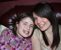Grace & Sarah. New Years Eve 07/08 (Sarah-Jane Doherty) Tags: irish cousins grace newyearseve elliott sarahjane