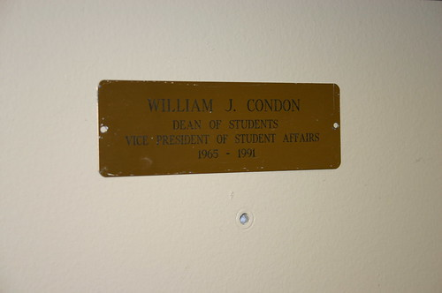 William Condon Plaque