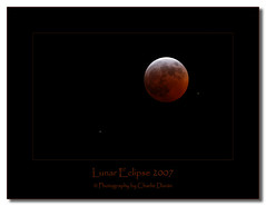 Lunar Eclipse  2007 (Chiggs.) Tags: red moon lune eclipse space satellite astronomy universe lunar espace solarsystem 2007 smörgåsbord astronomie univers systèmesolaire ©copyrightcharlieduránallrightsreserved