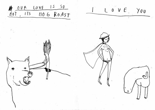 I love you zine (with tom edwards)