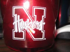 Huskers (TheAng) Tags: work nebraska huskers waterbottle