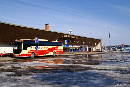 "Sodankylä - Bus Station • <a style=""font-size:0.8em;"" href=""http://www.flickr.com/photos/26679841@N00/2245412622/"" target=""_blank"">View on Flickr</a>"