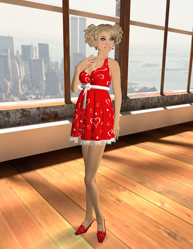 Valentine's Day - Sirena V-Day Dress