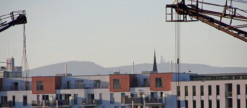 Klare Sicht zum Feldberg