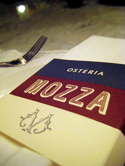 Osteria Mozza Los Angeles