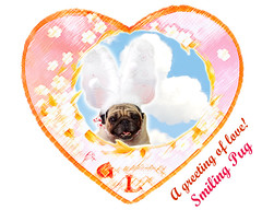 *SMILING PUG* - HAPPY VALENTINE'S DAY, MEL B VINTAGE HEART FROM THE SWEETHEART SMILING PUG *-* (*SMILING PUG*) Tags: dog bunny christmastree pugs bambam merryxmas christmaspug pugchristmas santapug bugbaby xmaspug bugbaby pugdogpugssmilingsmilesvalentinehappyholidayssmilebugbabybunnybambamk9toyspug