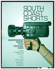 South Coast Shorts - Film festival poster (Nick Caro - Photography) Tags: art film festival illustration poster design graphicdesign artwork caro nickcaro uniquevision nickcarophotography wwwnickcarophotographycouk