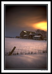 Brampton Back Lighting (Insight Imaging: John A Ryan Photography) Tags: winter snow toronto ontario barn february feild aficionados bramptonontario abigfave pentaxk10d aplusphoto diamondclassphotographer betterthangood justpentax johnaryan wwwinsightimagingca johnaryanphotography