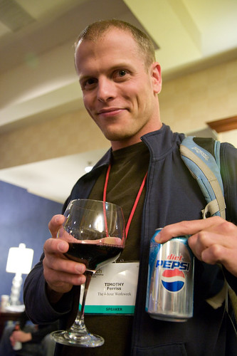 Tim Ferriss, photo by Laughing Squid