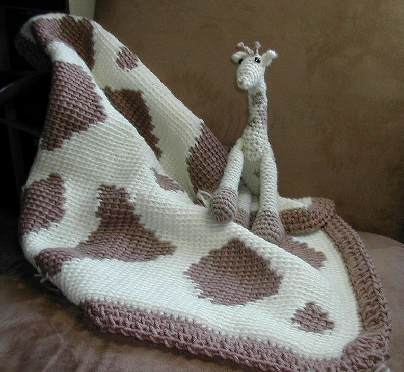Crochet Pattern Giraffe Blanket : Knits and Knots: JoJo Blanket Pattern
