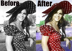 Photoshop work soad hosny coloring (Mohammed Al-Essa) Tags: photoshop work coloring colorize soad hosny