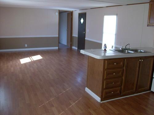 3 BR Mobile Home Interior