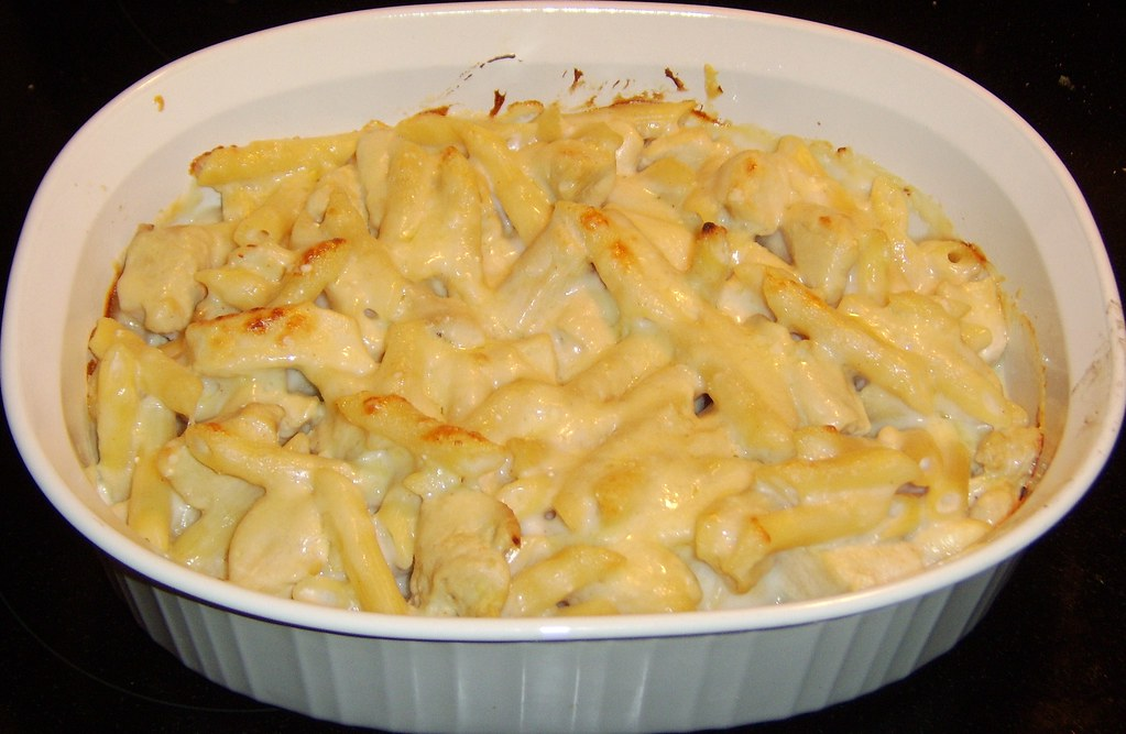 Chicken and Gruyere Baked Penne
