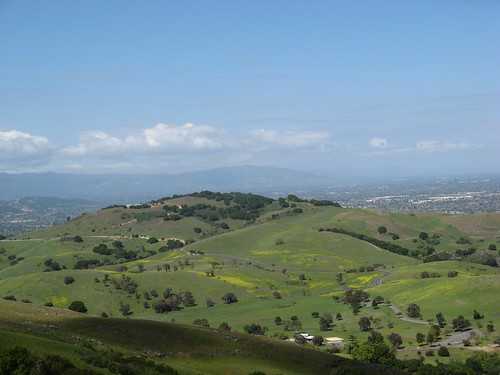 Santa Teresa County Park from Coyote Peak