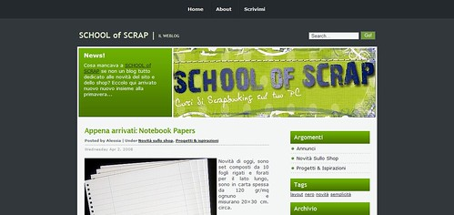 il weblog di SCHOOL of SCRAP