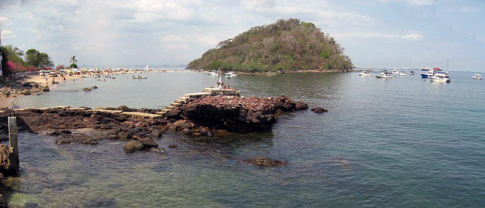 Isla taboga, Pacifico Panama