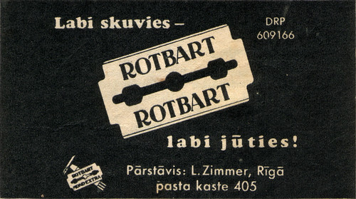 Rotbart blades in Latvia