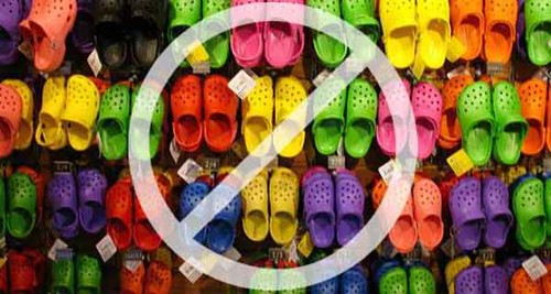 Crocs Prove to Be a Bad Idea, Finally