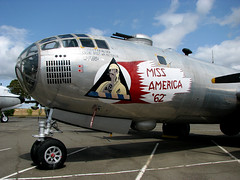 photo - TAFB B-29 Miss America (Jassy-50) Tags: california museum plane airplane photo airline warbird noseart b29 superfortress aviationmuseum tafb travisafb travisairmuseum missamerica62
