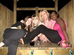 treehouse girls (so now, then.) Tags: fun alcohol leavingdo workrelated