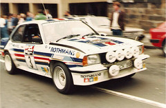 Jimmy McRae Opel Ascona 400 (RS Pictures) Tags: 35mm ascona 1982 team rally arnold jimmy scottish scan 400 clark mcrae opel rothmans