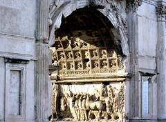 Arco de Tito, Roma, Italia, (PGARCIA.) Tags: arcodetito víasacra roma italia imperioromano arcodetriunfo arquitectura relieves