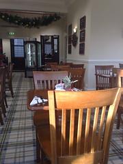 Interior of the Walter Scott tea rooms, Princes St, Edinburgh