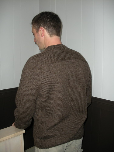 Troy's sweater back