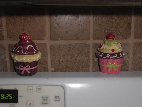 Cupcake trinket boxes