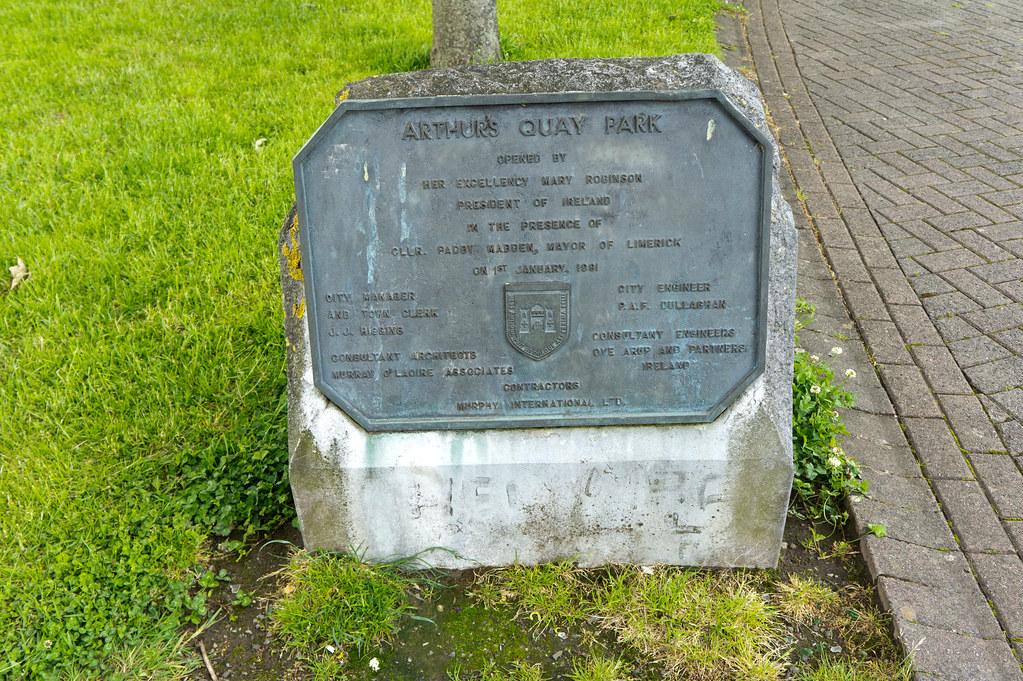 Limerick - Arthur's Quay Park