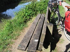resting on park bench Seend Cleeve (mid-range) (wongcilik54) Tags: travel bike bicycle cyclist littlepeople avonkennettcanal seendcleeve