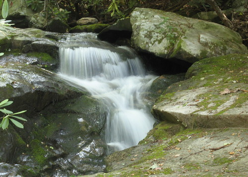 More tumbling water on Glen Burney Trail