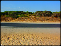 Playa de la Bota (Huelva) (sky_hlv) Tags: espaa beach andaluca spain huelva playa verano costadelaluz puntaumbra oceanoatlntico playadelabota