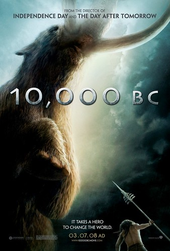 Primer póster de '10.000 B.C.' de Roland Emmerich
