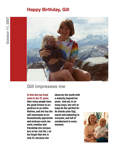 Gill's Birthday