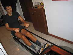 Rowing home fitness (greatgeez) Tags: home muscles casa body dolce rowing roberto fitness bigfoot corpo fisico muscoli sudore vogatore piedoni seghetta vogare