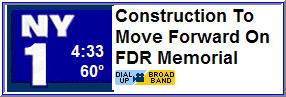 FDR Memorial - NY1 Video Link