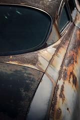 Rusty car at Wigwam Motel (Compound-Eye) Tags: route66 holbrook wigwammotel