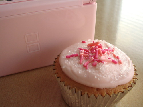Pink Cupcake For My Pink DS