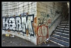 Tangenziale Est (Stefano Pizzetti) Tags: urban italy rome roma stairs graffiti italia cityscape decay urbandecay best dirt passage tangenziale urbex bestshots urbanfragments romacaputmundi karm imagoromae desafiourbano altraroma urbanexplorersitalia stefanopizzetti