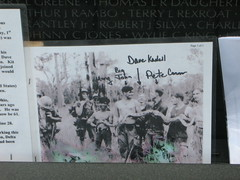 Pictures at the Vietnam War Memorial (davidgoud) Tags: panel16w objectsleftatthewall