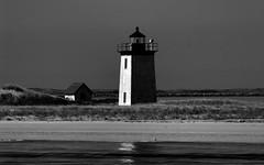Old friends by the water (sbrrmk) Tags: ocean blue sea blackandwhite bw usa lighthouse boston capecod siyahvebeyaz