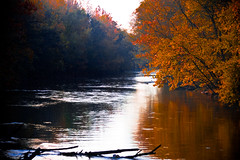 Wolf River in Fall